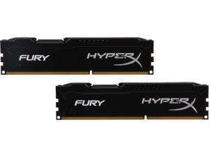HyperX FURY 8GB (2 x 4GB) 240-Pin DDR3 SDRAM DDR3 1333 (PC3 10600) Desktop Memory Model HX313C9FBK2/8