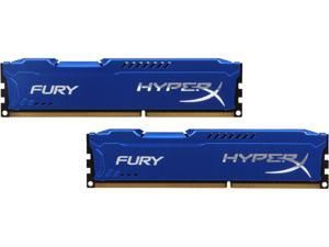 HyperX FURY 8GB (2 x 4GB) 240-Pin DDR3 SDRAM DDR3 1333 (PC3 10600) Desktop Memory Model HX313C9FK2/8
