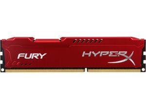 HyperX FURY 4GB 240-Pin DDR3 SDRAM DDR3 1333 (PC3 10600) Desktop Memory Model HX313C9FR/4