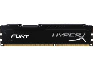 HyperX FURY 4GB 240-Pin DDR3 SDRAM DDR3 1600 (PC3 12800) Desktop Memory Model HX316C10FB/4