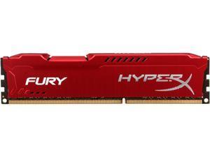 HyperX FURY 8GB 240-Pin DDR3 SDRAM DDR3 1600 (PC3 12800) Desktop Memory Model HX316C10FR/8
