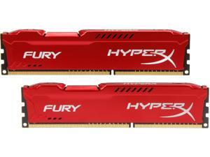 HyperX FURY 8GB (2 x 4GB) 240-Pin DDR3 SDRAM DDR3 1600 (PC3 12800) Desktop Memory Model HX316C10FRK2/8