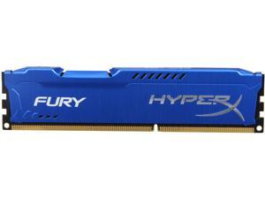 HyperX FURY 4GB 240-Pin DDR3 SDRAM DDR3 1866 Desktop Memory Model HX318C10F/4