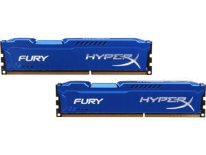 HyperX FURY 16GB (2 x 8GB) 240-Pin DDR3 SDRAM DDR3 1866 (PC3 14900) Desktop Memory Model HX318C10FK2/16