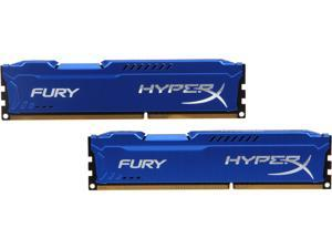 HyperX FURY 8GB (2 x 4GB) 240-Pin DDR3 SDRAM DDR3 1866 Desktop Memory Model HX318C10FK2/8