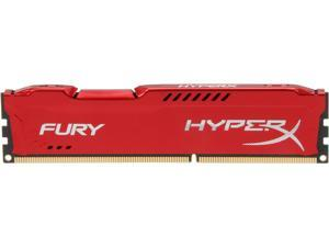 HyperX FURY 4GB 240-Pin DDR3 SDRAM DDR3 1866 Desktop Memory Model HX318C10FR/4