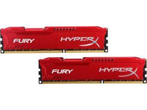 HyperX FURY 16GB (2 x 8GB) 240-Pin DDR3 SDRAM DDR3 1866 Desktop Memory Model HX318C10FRK2/16
