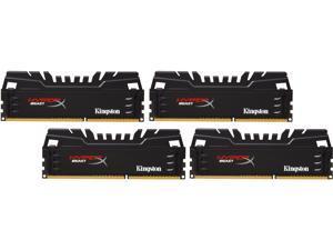 HyperX Beast 16GB (4 x 4GB) 240-Pin DDR3 SDRAM DDR3 2400 Desktop Memory Model HX324C11T3K4/16