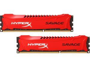 HyperX Savage 16GB (2 x 8GB) 240-Pin DDR3 SDRAM DDR3 1600 (PC3 12800) Desktop Memory Model HX316C9SRK2/16