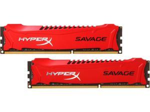 HyperX Savage 16GB (2 x 8GB) 240-Pin DDR3 SDRAM DDR3 2400 (PC3 19200) Desktop Memory Model HX324C11SRK2/16