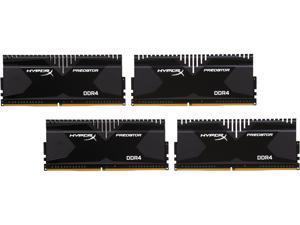 HyperX Predator 16GB (4 x 4GB) 288-Pin DDR4 SDRAM DDR4 3000 (PC4 24000) Desktop Memory Model HX430C15PB2K4/16
