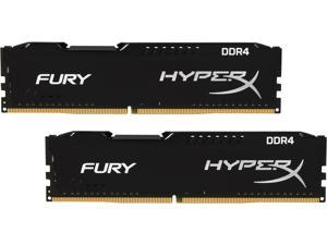 HyperX FURY 8GB (2 x 4GB) 288-Pin DDR4 SDRAM DDR4 2133 (PC4 17000) Desktop Memory Model HX421C14FBK2/8