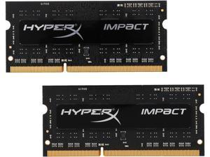 HyperX 8GB (2 x 4GB) DDR3L 1866 (PC3L 14900) Laptop Memory Model HX318LS11IBK2/8
