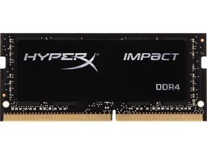 HyperX Impact 8GB 260-Pin DDR4 SO-DIMM DDR4 2400 (PC4 19200) Laptop Memory Model HX424S14IB/8