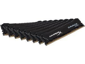 HyperX Savage 128GB (8 x 16GB) 288-Pin DDR4 SDRAM DDR4 2666 (PC4 21300) Desktop Memory Model HX426C15SBK8/128