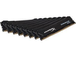 HyperX Savage 64GB (8 x 8GB) 288-Pin DDR4 SDRAM DDR4 2800 (PC4 22400) Desktop Memory Model HX428C14SB2K8/64