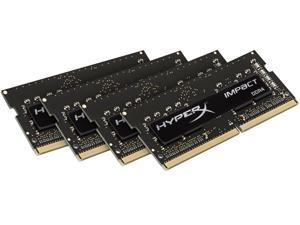 HyperX Impact 16GB (4 x 4G) 260-Pin DDR4 SO-DIMM DDR4 2133 (PC4 17000) Laptop Memory Model HX421S14IBK4/16