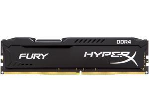 HyperX Fury 16GB (1 x 16GB) DDR4 2400MHz DRAM (Desktop Memory) CL15 1.2V Black DIMM (288-pin) HX424C15FB/16 (Intel XMP, AMD Ryzen)