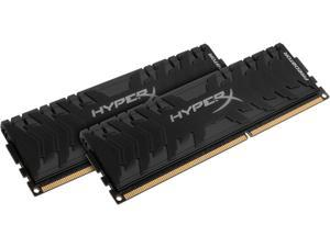 HyperX Predator 8GB (2 x 4GB) DDR3 2400 RAM (Desktop Memory) CL11 XMP Black DIMM (288-Pin) HX324C11PB3K2/8