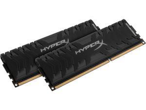 HyperX Predator 16GB (2 x 8GB) DDR3 2400 RAM (Desktop Memory) CL11 XMP Black DIMM (288-Pin) HX324C11PB3K2/16