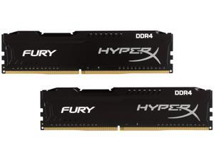 HyperX Fury 16GB (2 x 8GB) DDR4 2133 RAM (Desktop Memory) CL14 1.2V XMP Black DIMM (288-Pin) Sleeved HX421C14FB2K2/16-SLV