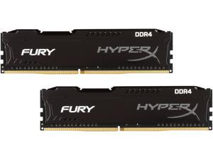 HyperX Fury 16GB (2 x 8GB) DDR4 2400 RAM (Desktop Memory) CL15 1.2V XMP Black DIMM (288-Pin) Sleeved HX424C15FB2K2/16-SLV