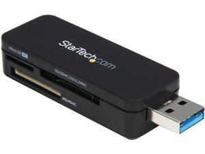 StarTech.com USB 3.0 External Flash Multi Media Memory Card Reader (FCREADMICRO3)
