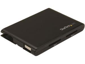 StarTech 2SD4FCRU3 with SD card USB 3.0 Dual-Slot SD Card Reader/Writer - USB 3.0 - SD 4.0, UHS II