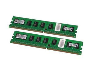 Kingston 8GB (2 x 4GB) 240-Pin DDR2 SDRAM DDR2 400 (PC2 3200) ECC Registered Dual Channel Kit Server Memory Model KVR400D2D4R3K2/8G