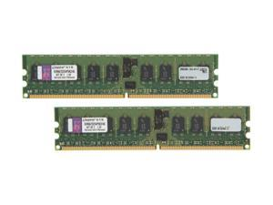 Kingston 4GB (2 x 2GB) 240-Pin DDR2 SDRAM ECC Registered DDR2 667 (PC2 5300) Dual Channel Kit Server Memory Model KVR667D2S4P5K2/4G