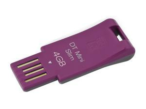 Kingston DataTraveler Mini Slim 4GB USB 2.0 Flash Drive (Pink) Model DTMSN/4GB