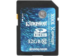 Kingston ULTIMA 32GB Secure Digital High-Capacity (SDHC) Flash Card Model SD10G2/32GB