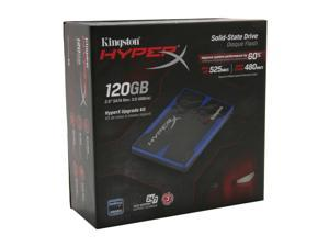 "Kingston HyperX SH100S3B/120G 2.5"" 120GB SATA III MLC Internal Solid State Drive (SSD) (HyperX Upgrade Kit)"