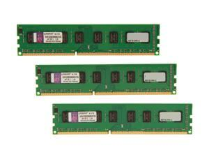Kingston 12GB (3 x 4GB) 240-Pin DDR3 SDRAM DDR3 1333 Desktop Memory
