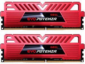 GeIL EVO POTENZA 16GB (2 x 8GB) 288-Pin DDR4 SDRAM DDR4 2400 (PC4 19200) Desktop Memory Model GPR416GB2400C15DC