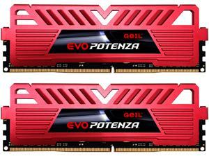 GeIL EVO POTENZA 16GB (2 x 8GB) 288-Pin DDR4 SDRAM DDR4 3000 (PC4 24000) Desktop Memory Model GPR416GB3000C15ADC