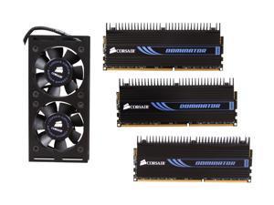 CORSAIR DOMINATOR 12GB (3 x 4GB) 240-Pin DDR3 SDRAM DDR3 1600 (PC3 12800) Desktop Memory Model CMP12GX3M3A1600C9
