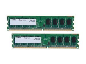 Mushkin Enhanced 2GB (2 x 1GB) 240-Pin DDR2 SDRAM DDR2 667 (PC2 5300) Dual Channel Kit Desktop Memory Model 991503