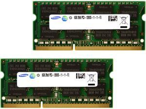 16GB (2 x 8G) 204-Pin DDR3 SO-DIMM DDR3 1600 (PC3 12800) Laptop Memory