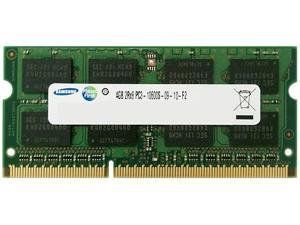 SAMSUNG 4GB 204-Pin DDR3 SO-DIMM DDR3 1333 (PC3 10600) Laptop Memory Model M471B5273CH0-CH9