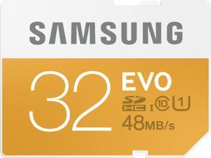 Samsung 32GB EVO SDHC UHS-I/U1 Class 10 Memory Card (MB-SP32D/AM)