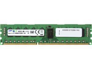 SAMSUNG 8GB 240-Pin DDR3 SDRAM ECC Registered DDR3 1600 (PC3 12800) Server Memory Model M393B1G73DB0-YK0
