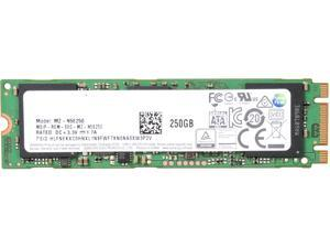 SAMSUNG 850 EVO M.2 2280 250GB SATA III 3-D Vertical Internal SSD Single Unit Version MZ-N5E250BW