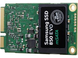 SAMSUNG 850 EVO mSATA 1TB Mini-SATA (mSATA) 3-D Vertical Internal SSD Single Unit Version MZ-M5E1T0BW
