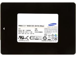 "SAMSUNG Data Center PM863 2.5"" 960GB SATA III MLC Enterprise Solid State Drive"