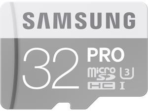 Samsung 32GB PRO microSDHC UHS-I/U3 Class 10 Memory Card with Adapter, Speed Up to 90MB/s (MB-MG32EA/AM)