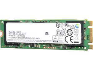 SAMSUNG 850 EVO M.2 1TB SATA III 3-D Vertical Internal Solid State Drive (SSD) MZ-N5E1T0BW
