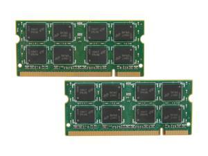 Crucial 4GB (2 x 2GB) 200-Pin DDR2 SO-DIMM DDR2 800 (PC2 6400) Dual Channel Kit Laptop Memory Model CT2KIT25664AC800