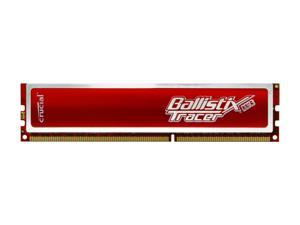 Crucial Ballistix Tracer 2GB 240-Pin DDR3 SDRAM DDR3 1600 (PC3 12800) Desktop Memory w/ Red LEDs