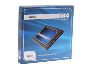 "Crucial M4 2.5"" 512GB SATA III MLC Internal Solid State Drive (SSD) CT512M4SSD2"